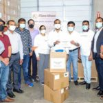 Standing with India fight COVID-19 by purchasing and handing over 200 oxygen concentrators